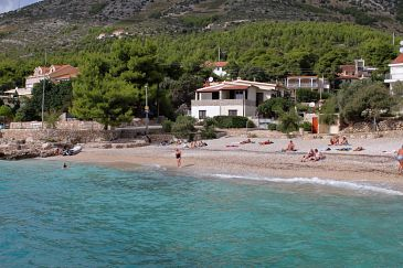 Property Ivan Dolac (Hvar) - Accommodation 130 - Apartments near sea with pebble beach.