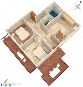 Apartment A-132-a - Apartments Gršćica (Korčula) - 132