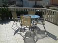 Jelsa, Terrace u smještaju tipa apartment, dopusteni kucni ljubimci i WIFI.