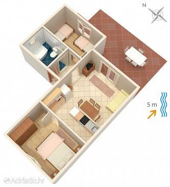 Apartment A-135-b - Apartments Lumbarda (Korčula) - 135