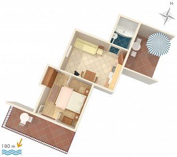 Apartament A-141-b - Kwatery Hvar (Hvar) - 141
