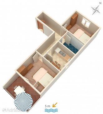 Apartment A-183-d - Apartments Zavalatica (Korčula) - 183