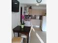 Zavalatica, Dining room u smještaju tipa apartment, dostupna klima i WIFI.