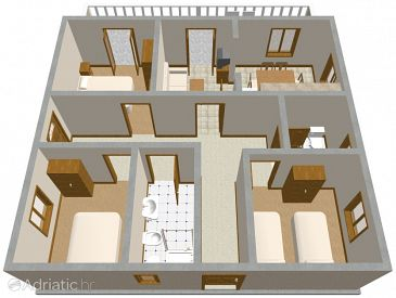 Apartment A-185-a - Apartments Zavalatica (Korčula) - 185