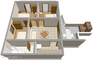 Apartment A-187-a - Apartments Zavalatica (Korčula) - 187