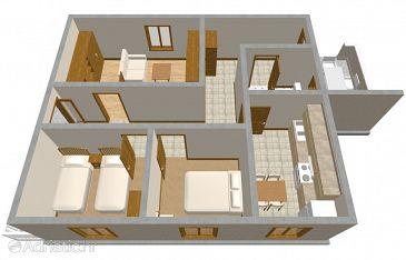 Apartment A-187-b - Apartments Zavalatica (Korčula) - 187