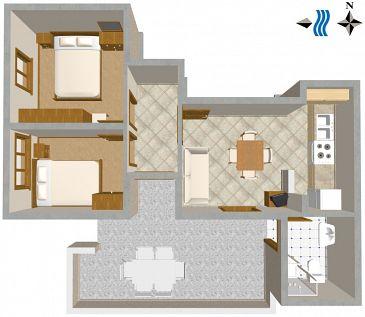 Apartment A-189-b - Apartments Zavalatica (Korčula) - 189