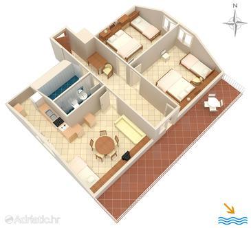 Apartment A-193-b - Apartments Prigradica (Korčula) - 193