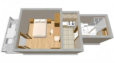 Studio flat AS-195-a - Apartments Sućuraj (Hvar) - 195