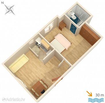 Apartment A-2007-b - Apartments Banjol (Rab) - 2007