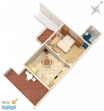 Apartment A-2016-c - Apartments Supetarska Draga - Gornja (Rab) - 2016