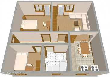 Apartment A-2028-c - Apartments Marina (Trogir) - 2028