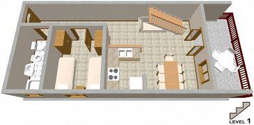 Apartament A-2037-a - Apartamenty Seget Vranjica (Trogir) - 2037