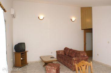 Seget Donji, Living room u smještaju tipa apartment, dostupna klima i WIFI.