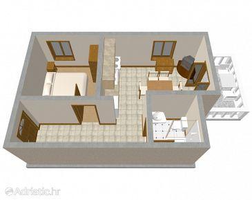 Apartment A-205-a - Apartments Mandre (Pag) - 205