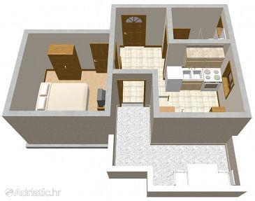 Apartment A-205-c - Apartments Mandre (Pag) - 205
