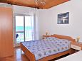 Bedroom - Room S-206-e - Apartments and Rooms Metajna (Pag) - 206