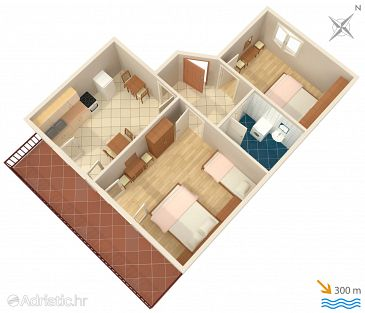 Apartment A-2068-a - Apartments Jelsa (Hvar) - 2068
