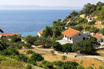 Property Uvala Torac (Hvar) - Accommodation 2071 - Apartments near sea with pebble beach.