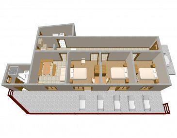 Apartament A-2072-a - Apartamenty Uvala Srhov Dolac (Hvar) - 2072
