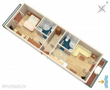 Apartment A-2073-f - Apartments Uvala Pokrivenik (Hvar) - 2073