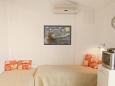Rastići, Dining room u smještaju tipa apartment, dostupna klima, dopusteni kucni ljubimci i WIFI.