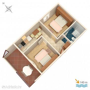 Apartment A-2079-a - Apartments Rastići (Čiovo) - 2079