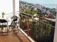 Balcony 1 - Apartment A-2086-d - Apartments Podstrana (Split) - 2086