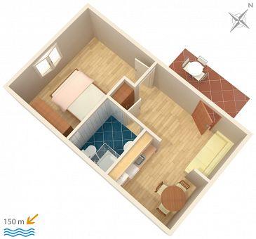 Apartment A-2087-b - Apartments Podstrana (Split) - 2087