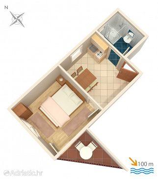 Apartment A-2095-b - Apartments Vinišće (Trogir) - 2095