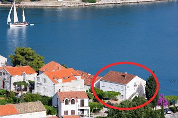 Property Zaton Mali (Dubrovnik) - Accommodation 2124 - Apartments and Rooms near sea with pebble beach.