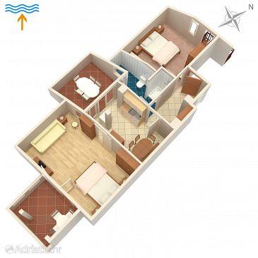 Apartment A-213-e - Apartments Novalja (Pag) - 213