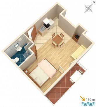Studio flat AS-2136-a - Apartments Plat (Dubrovnik) - 2136