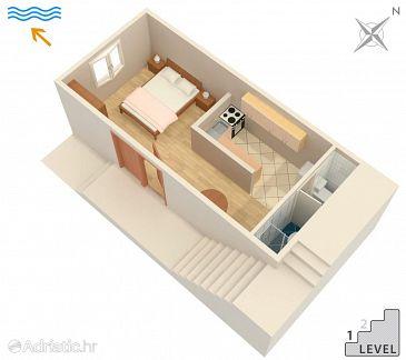 Studio flat AS-2137-d - Apartments and Rooms Molunat (Dubrovnik) - 2137