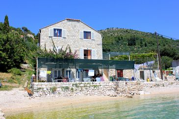 Property Slađenovići (Dubrovnik) - Accommodation 2161 - Rooms near sea with pebble beach.