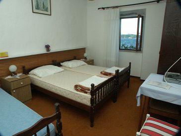 Lopud, Bedroom u smještaju tipa room, dostupna klima i WIFI.