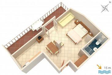 Studio flat AS-2178-h - Apartments and Rooms Slano (Dubrovnik) - 2178