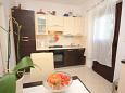 Koločep, Kitchen u smještaju tipa studio-apartment, dopusteni kucni ljubimci i WIFI.