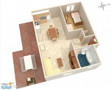 Apartment A-2194-a - Apartments Uvala Ljubljeva (Trogir) - 2194