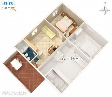 Apartment A-2198-d - Apartments Mali Lošinj (Lošinj) - 2198