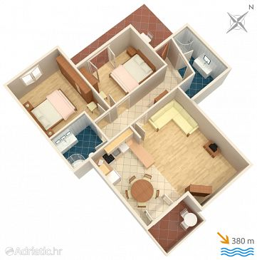Apartment A-220-a - Apartments Pag (Pag) - 220