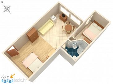 Apartment A-2243-f - Apartments Rovinj (Rovinj) - 2243