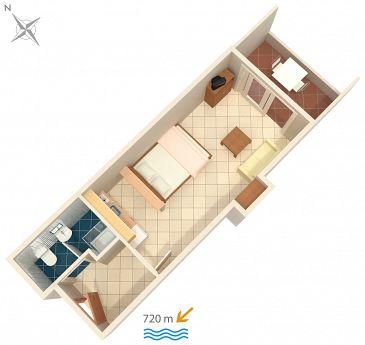 Studio flat AS-2243-d - Apartments Rovinj (Rovinj) - 2243