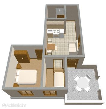 Apartment A-225-b - Apartments Povljana (Pag) - 225
