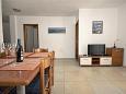 Medulin, Dining room u smještaju tipa apartment, dostupna klima i WIFI.