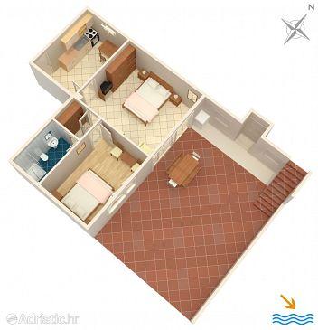 Studio flat AS-2302-b - Apartments and Rooms Lovran (Opatija) - 2302