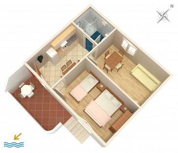 Apartment A-233-b - Apartments Povljana (Pag) - 233