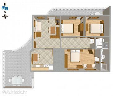 Apartment A-2347-a - Apartments Novi Vinodolski (Novi Vinodolski) - 2347