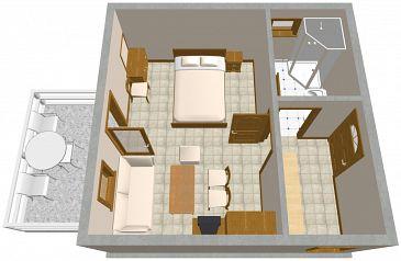 Apartament A-2357-a - Apartamenty Lovran (Opatija) - 2357