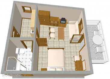 Apartment A-2357-b - Apartments Lovran (Opatija) - 2357